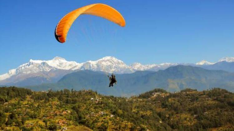 Amount For Paragliding in Kerala