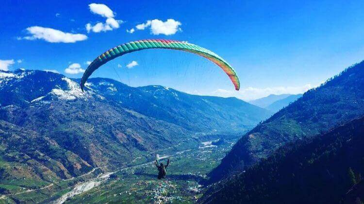 Amount For Paragliding in Manali