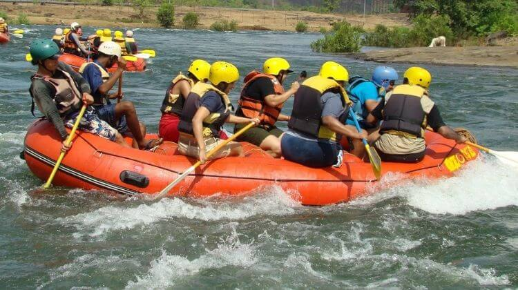 Amount For River Rafting in Kashmir