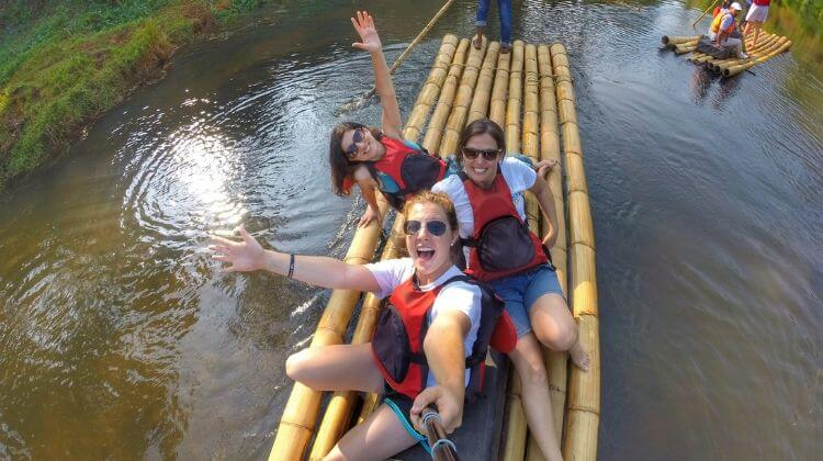 Best Time for Bamboo Rafting in Kerala