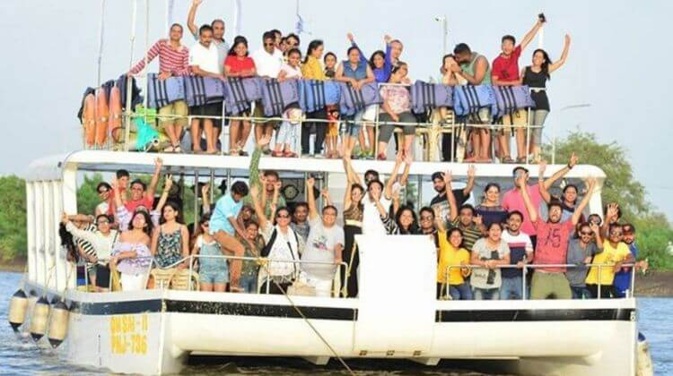 Goa Tour Package with Adventure Boat Trip With Dolphin Safari