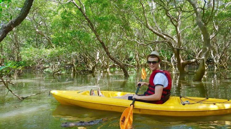 Goa Tour Package with Kayaking