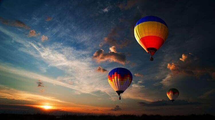 Hot Air Balloon Rate in Rajasthan