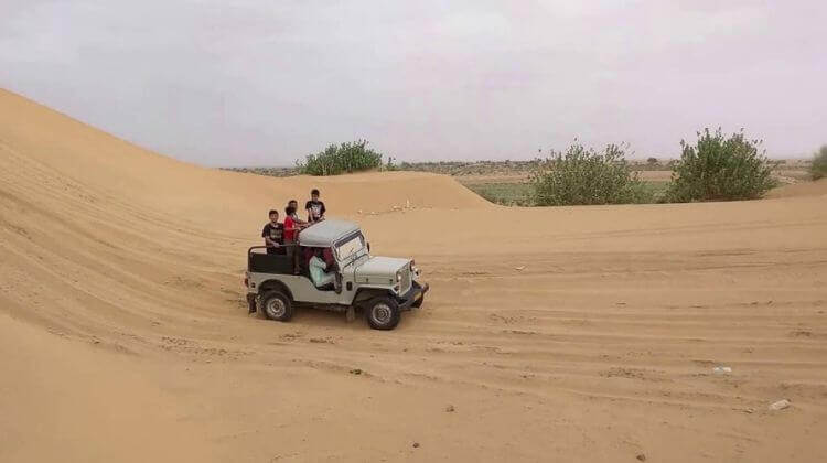 Jeep Safari & Horse Safari in Rajasthan Cost