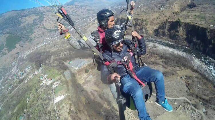 Manali Tour Package with Paragliding