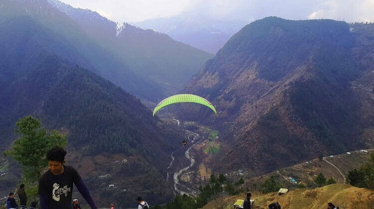 Paragliding in Manali Cost