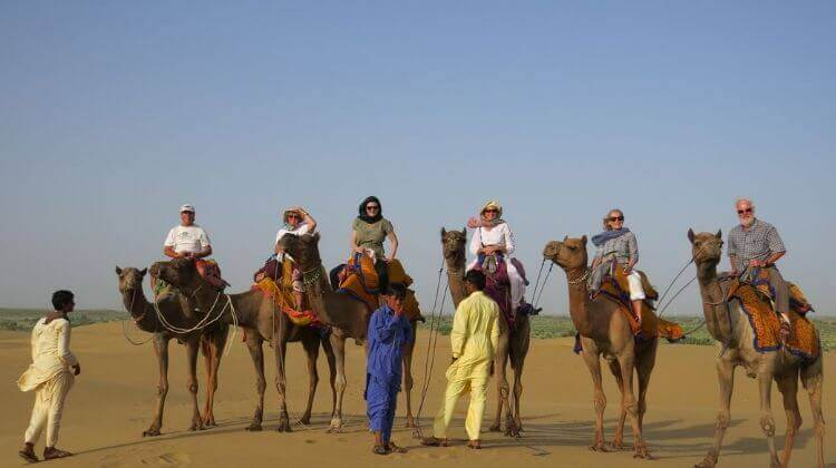 Price for Camel Safari in Rajasthan