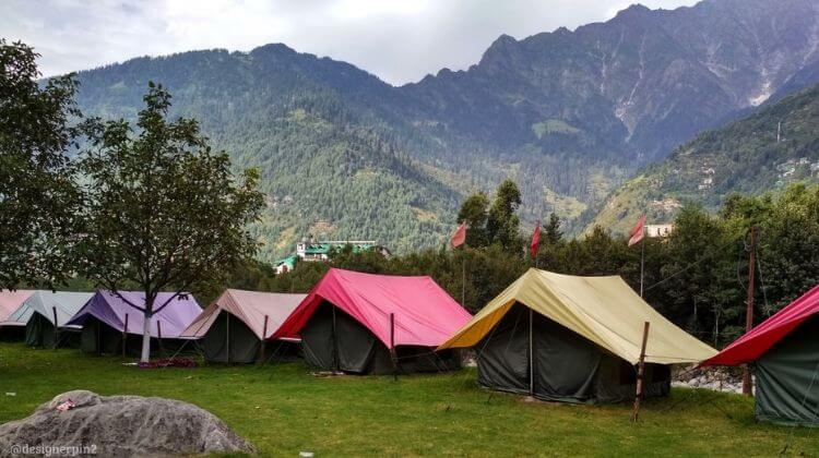 10 Best Places for Camping in Manali, Adventure Camping in ...