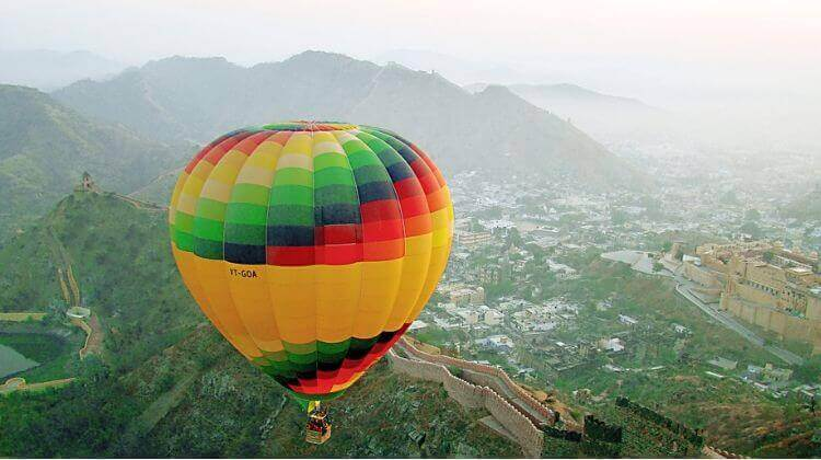 Price for Hot Air Balloon in Rajasthan