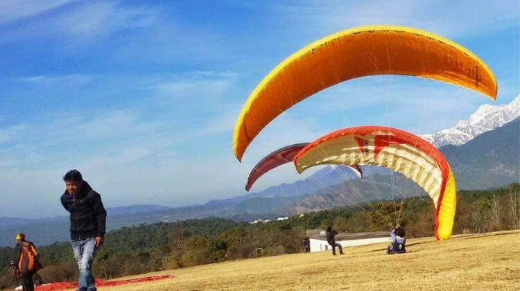 Price for Paragliding in Kerala