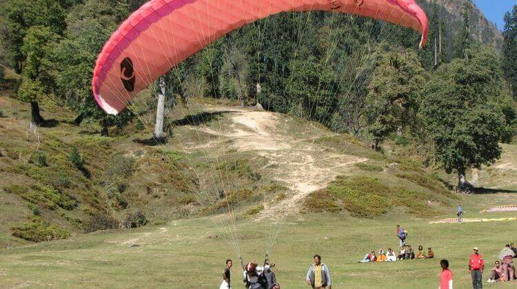 Price for Paragliding in Manali