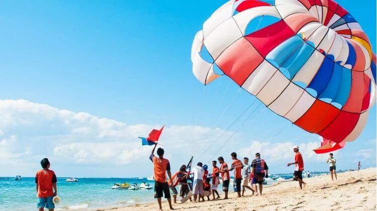 Price for Parasailing in Andaman