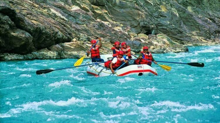 Price for River Rafting in Kashmir