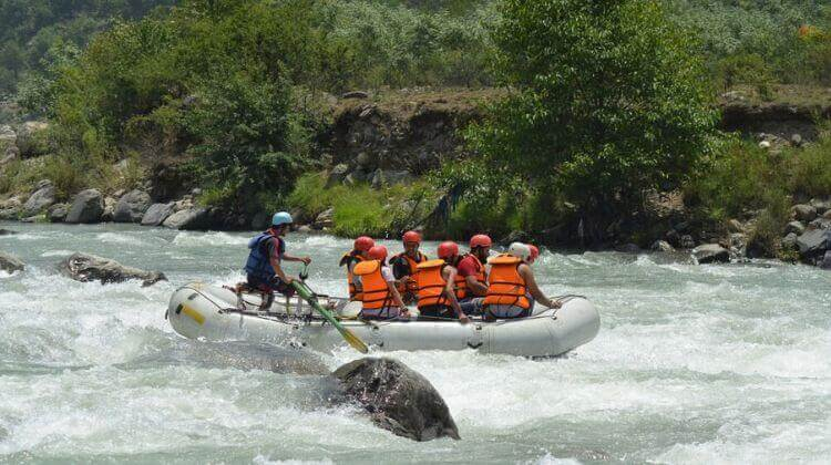 Best Time for River Rafting in Manali