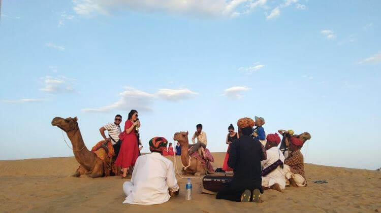 Deep Sea Camel Safari in Rajasthan