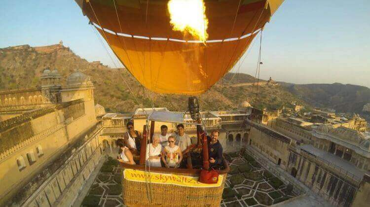 Rajasthan Tour Package with Hot Air Balloon