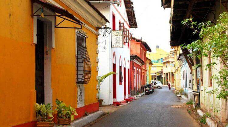 Panjim City in Goa is the Most Beautiful Place in Goa