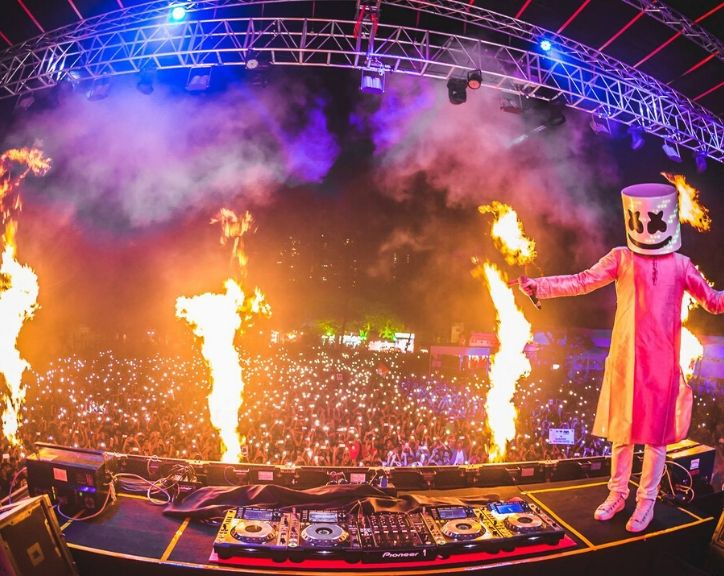 Sunburn in Goa 2019