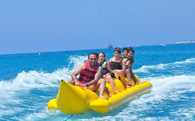 Banana Boat Ride in Goa